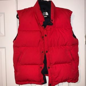 North Face Puffy Vest Size M/L
